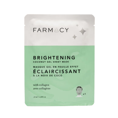 Farmacy - Coconut Gel Sheet Mask - BRIGHTENING