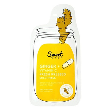 Sweet Chef - Ginger + Vitamin C Fresh Pressed Sheet Mask