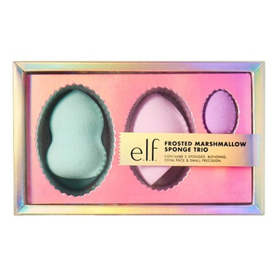 e.l.f. - Holiday Frosted Marshmallow Trio Sponge Gift Set - 3pc