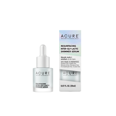 Acure - Resurfacing Inter-Gly-Lactic Shimmer Serum