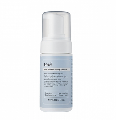 Klairs - Rich Moist Foaming Cleanser