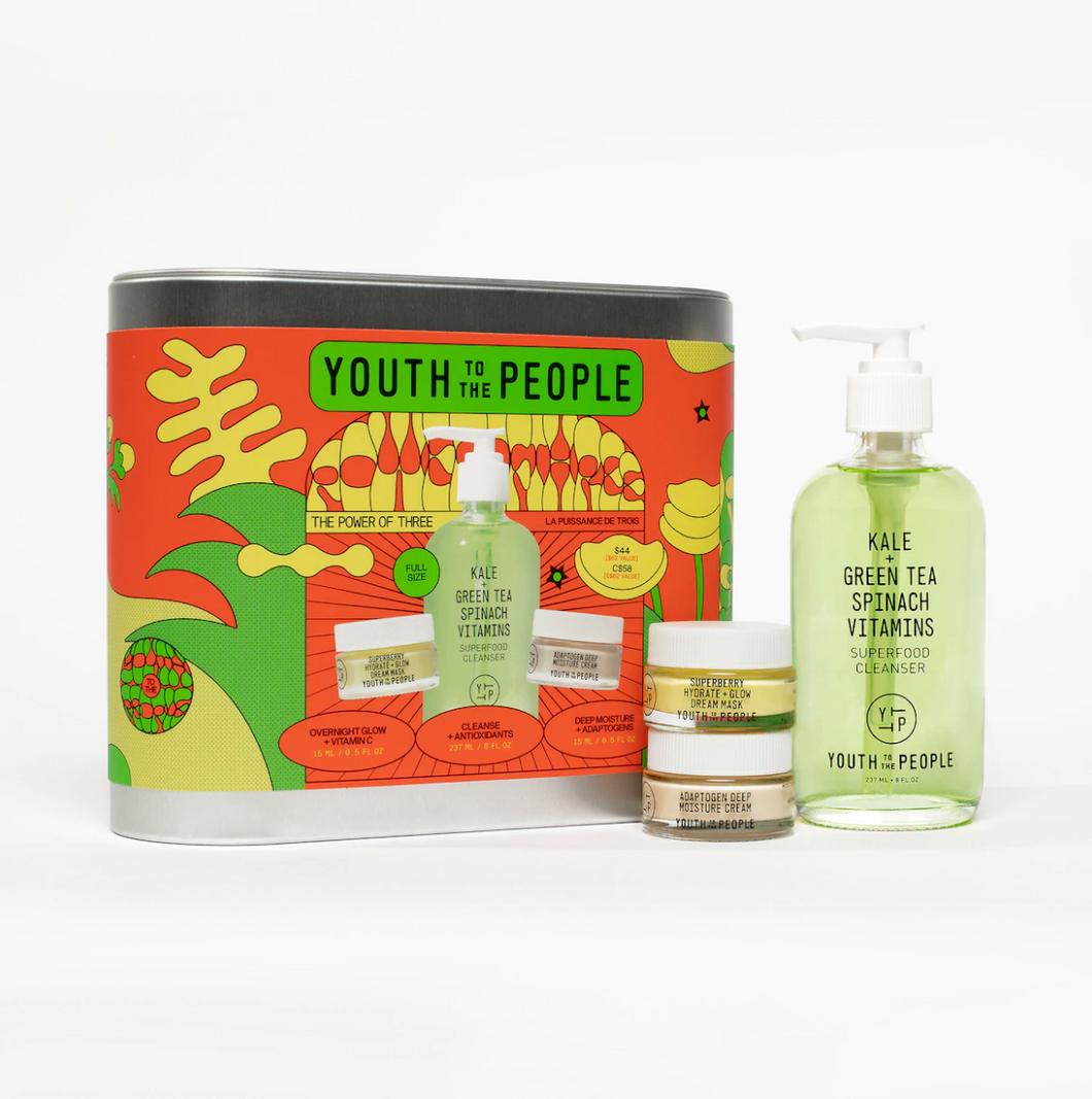 Youth to the People - The Power of Three Holiday Kit
