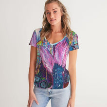 Load image into Gallery viewer, Octopus's Garden Women's V-Neck Tee