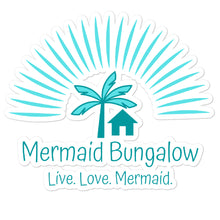 Load image into Gallery viewer, Mermaid Bungalow Logo Sticker