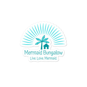 Mermaid Bungalow Logo Sticker