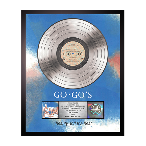 Personalized Beauty and the Beat Platinum Record