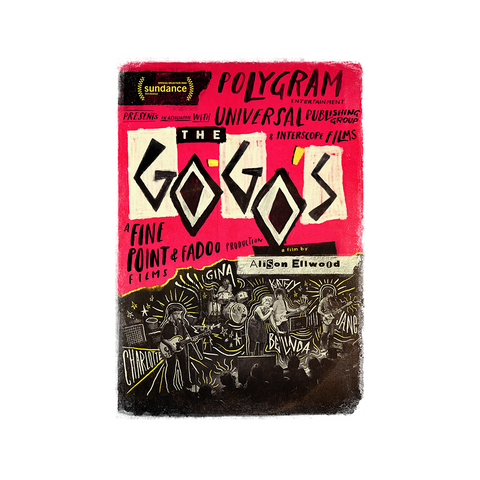The Go-Go's Documentary (DVD/Blu-Ray)