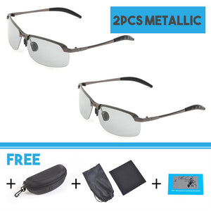Photochromic Polarized  Sunglasses for Men and Women