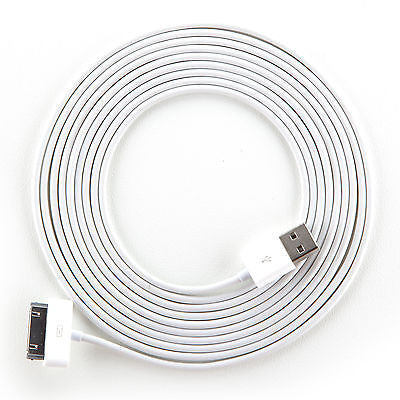 Smartcell® 10ft White Charge/Sync Cable For I...