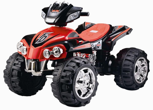 12V - Electric Ride On - Quad Bike - Red