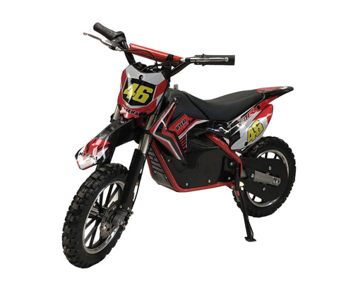 500W Kids Mini Electric Dirtbike - 2019 Model - Red