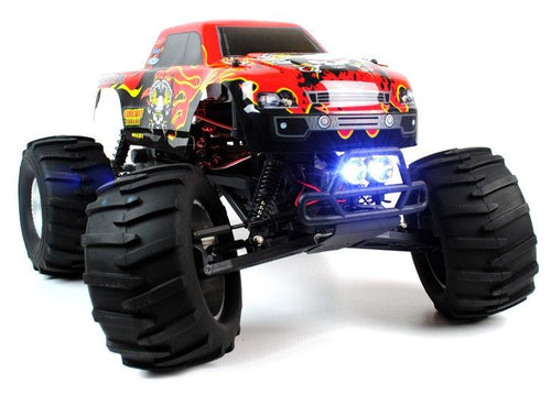 CUSTOMER RETURN** Circuit Thrash - 1:9 Scale RC Monster Truck with LED Lights - Brushless (1)