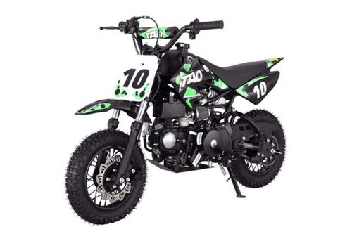 DB10 TAO USA -  KIDS 110CC Automatic Motocross - Dirt Bike - Green