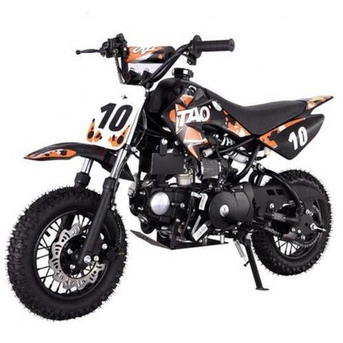 DB10 TAO USA -  KIDS 110CC Automatic Motocross - Dirt Bike - Orange