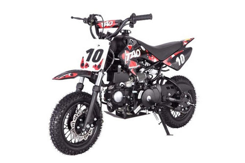 DB10 TAO USA -  KIDS 110CC Automatic Motocross - Dirt Bike - Red