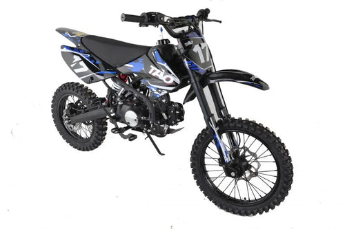 DB17 TAO USA Motocross Dirt Bike 125cc - BLUE