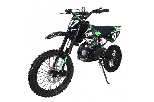 DB17 TAO USA Motocross Dirt Bike 125cc - GREEN