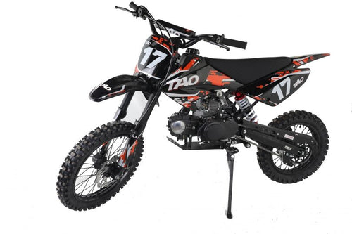 DB17 TAO USA Motocross Dirt Bike 125cc - ORANGE