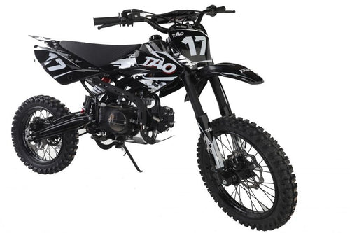DB17 TAO USA Motocross Dirt Bike 125cc - WHITE