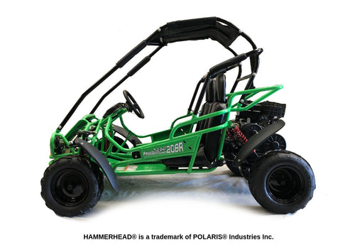 Hammerhead Mudhead -  Reverse 208R Kids Off Road Buggy - Green