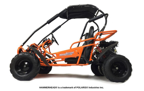 Hammerhead Mudhead -  Reverse 208R Kids Off Road Buggy - Orange