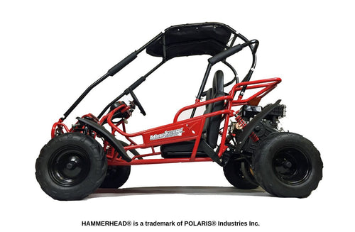 Hammerhead Mudhead -  Reverse 208R Kids Off Road Buggy - Red