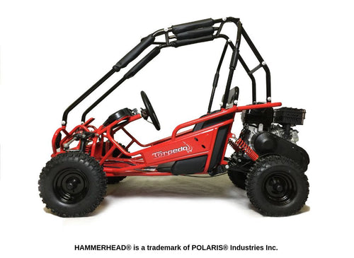 Hammerhead Torpedo 'SE' Kids Off Road Buggy - Red