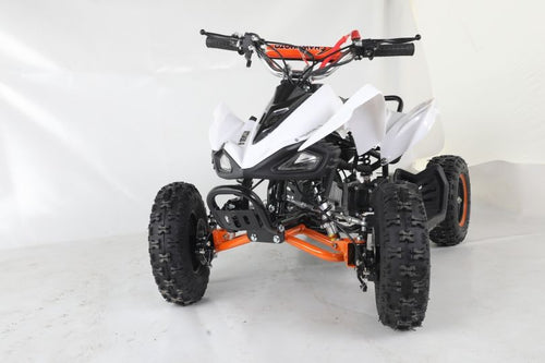 Hawkmoto - 50cc Street Ninja - Petrol Quad Bike  - Orange