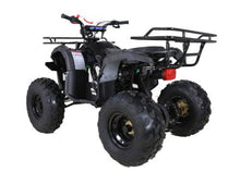 Load image into Gallery viewer, Hawkmoto Force Kids Quad Bike 125Cc  Black