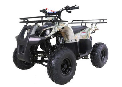 Hawkmoto Force Kids Quad Bike 125Cc  Tree Camo