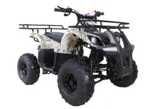 Load image into Gallery viewer, Hawkmoto Force Kids Quad Bike 125Cc  Tree Camo