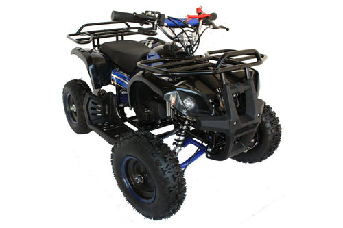 Hawkmoto FRM50 Minimoto Kids 50cc Mini Quad  Blue