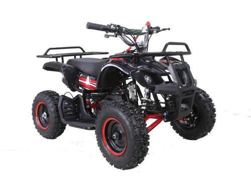 Hawkmoto FRM50 Minimoto Kids 50cc Mini Quad  Red