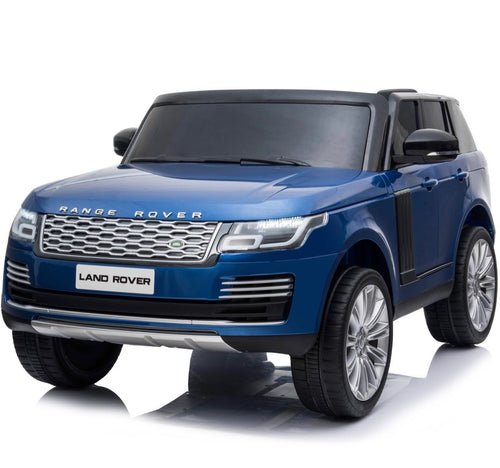 Licensed 24V Range Rover Vogue HSE 4WD 2 Seater Ride On Jeep - Blue