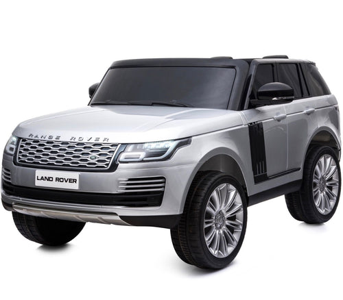 Licensed 24V Range Rover Vogue HSE 4WD 2 Seater Ride On Jeep - Silver