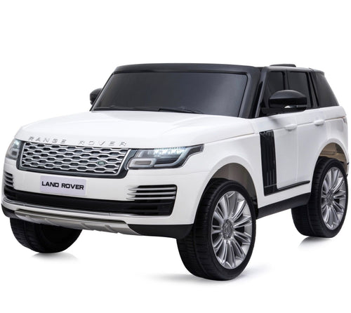 Licensed 24V Range Rover Vogue HSE 4WD 2 Seater Ride On Jeep - White