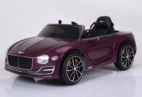 Licensed Bentley EXP12 12v Electric Ride on Car - Metallic Carmine