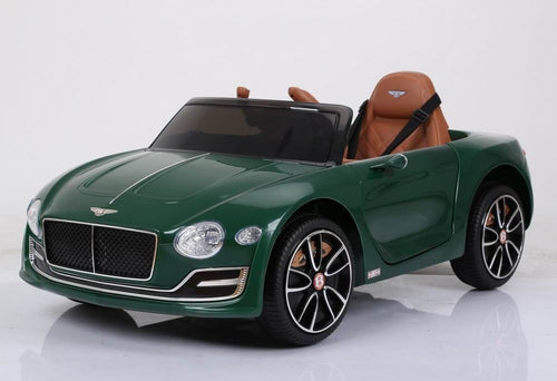 Licensed Bentley EXP12 12v Electric Ride on Car - Metallic Green