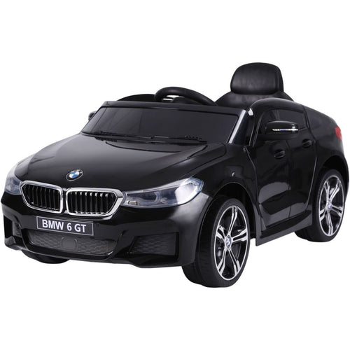 Licensed BMW GT - 12V Battery operated Ride on Car - Black