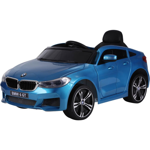 Licensed BMW GT - 12V Battery operated Ride on Car - Blue