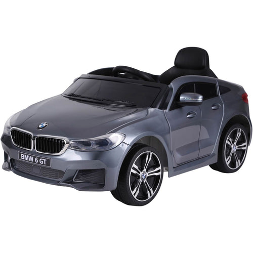 Licensed BMW GT - 12V Battery operated Ride on Car - Grey