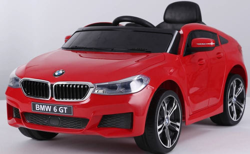 Licensed BMW GT - 12V Battery operated Ride on Car - Red