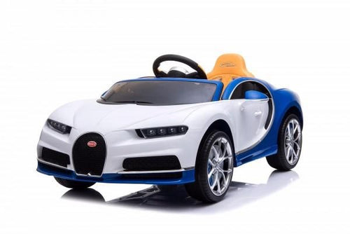 Licensed Buggati Chiron 12V Ride on Kids Electric Car With Remote Control - White