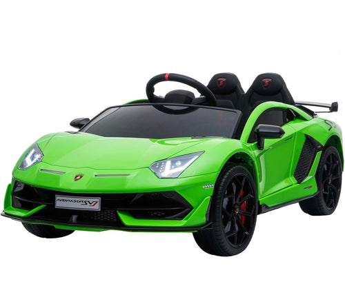 Licensed Lamborghini SVJ - 12V Childrens Electric Ride On Car - Green
