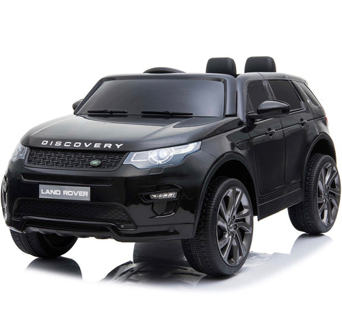 Licensed Land Rover Discovery 12V Ride On Battery Operated Jeep - Black
