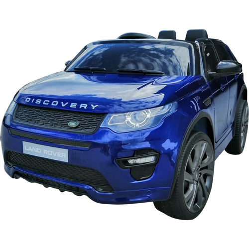 Licensed Land Rover Discovery 12V Ride On Battery Operated Jeep - Blue