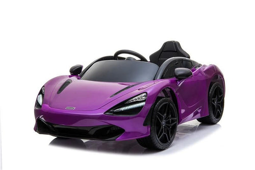 Licensed McLaren 720S  - 12V Battery Powered - Kids Electric Car - Lantana Purple