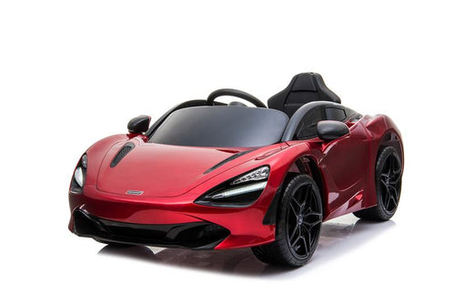 Licensed McLaren 720S  - 12V Battery Powered - Kids Electric Car - Memphis Red