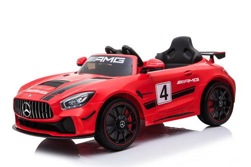 Licensed Mercedes-Benz AMG GT4 Sports Edition - 12V Ride On Car - Red