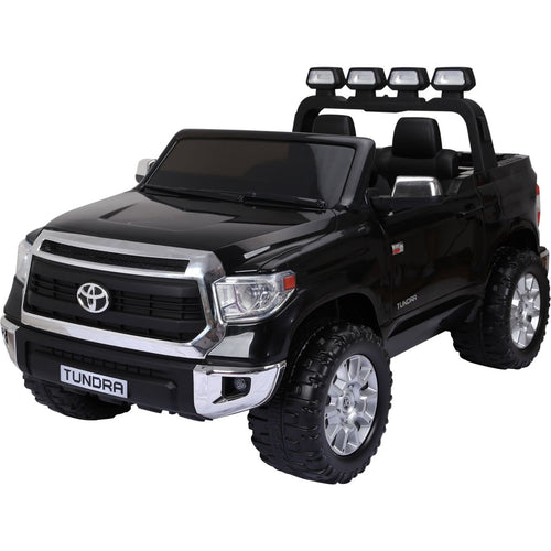 Licensed Toyota Hilux - 24V  Ride-On -  Childrens Electric Jeep Pickup - Black